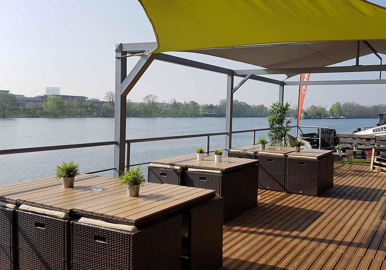 Rageboat Paris Boat terrace peniche Bezons