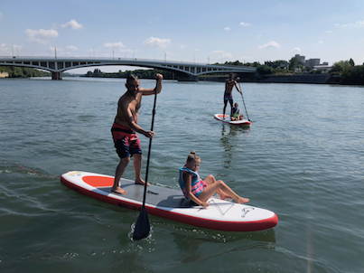 SUP Stand Up Paddle Paris Bezons